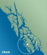Craig Locator Map