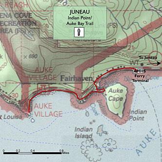 Indian Point-Auke Bay Trail
