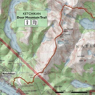 Deer Mountain and Silvas Lake Trail